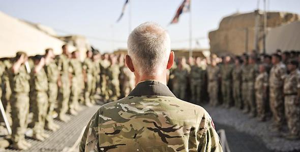 Memorial Service Helmand Afghanistan