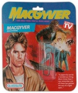 MacGyver, my childhood hero