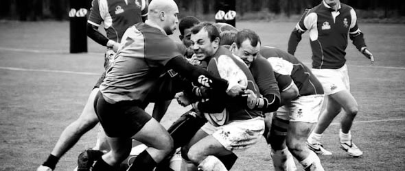 Playing Rugby - Getting Dirty