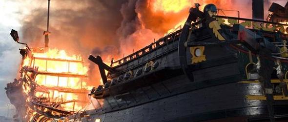 Burn The Boats.  Commitment.
