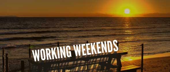 Working Weekends